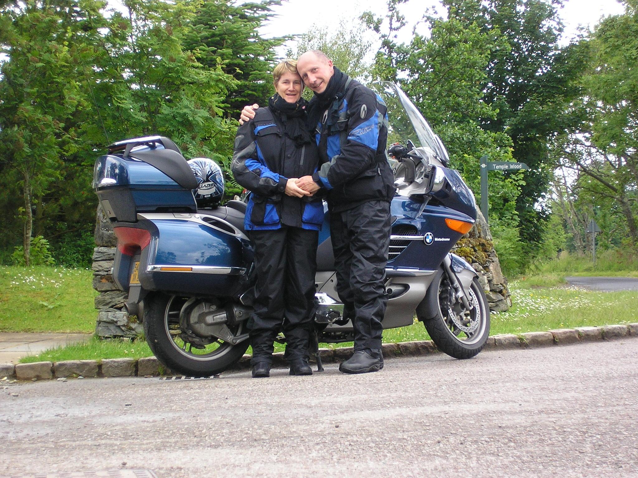 Moto quand il pleut